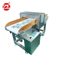 China Adjustable Detection Height Metal Detector for Aluminum Foil Packaging on sale