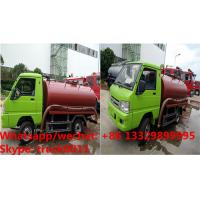 Quality m tank truChina cheapest price Forland RHD mini 2,000L vacuuck for sale, Factory sale best price Forland septic truck for sale