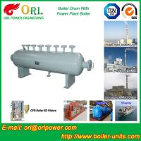 30 Ton Power Station Boiler Mud Drum Sterilization ORL Power SGS Standard Manufactures