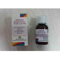 Quality Nystain Syrup 100000I.U. / ML ; 30ML Antibiotics Oral Suspension Drugs for sale