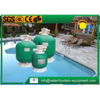 Quality High Performance Fibreglass Sand Filter , Top Mount Sand Filter For Swimming Pool for sale