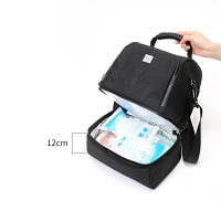 600D Heather Polyester Lunch Cooler Bag Manufactures