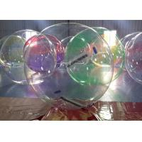 1.0 mm Transparent PVC / TPU Inflatable Walk On Water Ball EN71 Standard Manufactures