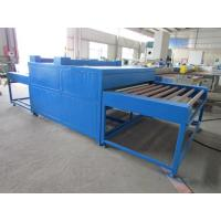 Hollow Glass Heated Roller Press Machine Blue Double Glazing Machinery Manufactures