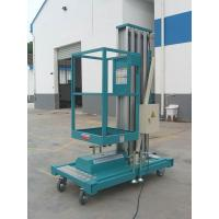 9 Meters Aluminum Mast Mobile Elevating Work Platforms for Exhibition Hall , 130Kg Manufactures