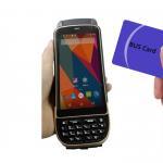LF125Khz 4G LTE Android Handheld RFID Scanner D/2D Laser Reader Writer 1.3Ghz Manufactures