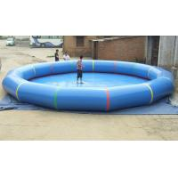 Large Round Inflatable Adult Family Pool , Inflatable Swimming Pools Manufactures
