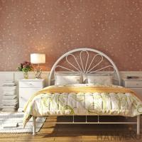 China 0.53*10M Wallpapers For Office Interiors Brick Red Color ISO / CS Certification on sale