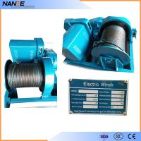 Industrial Electric Hoist , Heavy Duty Rope Hoist Double Girder Winch Trolley Manufactures