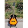 Free shipping sunburst J200 acoustic guitar,fishman EQ acoustic guitar Manufactures