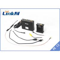1W UAV Video Transmission LOS 20KM With AES 256 Encryption For Plane Quadrotor Hexrcopter Manufactures