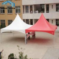 3x3m Spring Top Marquee Pinnacle PVC Roof Aluminium Alloy Frame Manufactures