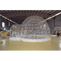 Environmental Sports Inflatable Yard Tent Transparent For Celebration Manufactures