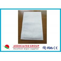 Disposable Medical Wet Wash Glove White Color For Hospital / Home Care Manufactures
