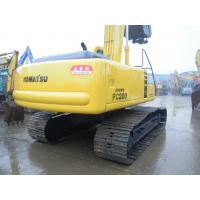 Buy cheap Komatsu PC200 Second Hand Excavators 5400 Hours 2002 Year With 40L Fuel Tank from wholesalers