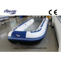 Professional Hypalon Hard Bottom Foldable Inflatable Boat 8 Person Manufactures