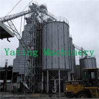 Continuous 250 tons Per Day Grain Bin Dryer Low Temperature Manufactures