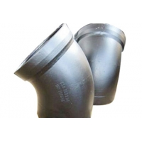 Welding Connect Pipe 420 / MPa Ductile Iron Pipe Bends Manufactures
