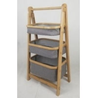 BSCI Knock Down 3 Tier Laundry Basket With Drawers Manufactures