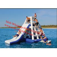 Quality giant inflatable water floating slides, inflatable water park for sale