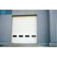 Thermal Insulated AC220V 150mm Track Overhead Garage Door Manufactures