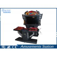 3D Monitor Coin Operated Arcade Machines For Entertament L1800 * W2000 * H2000 MM Manufactures