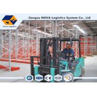 Cost Effective Pallet Warehouse Racking With Durable Steel / Epoxy Powder Coated Manufactures