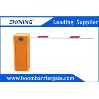 80W AC Motor Parking Lot Barrier Gate , Traffic Barrier Gate For Vehicle Manufactures