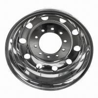 Forged Aluminum Alloy Truck Wheel with Good Quality and Competitive Price Manufactures