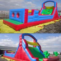 Durable Infaltable Castle Inflatable Obstacle Course Amusment Park Manufactures