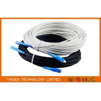China Outdoor Fiber Optic Patch Cord FTTH Network Patch Cable 1 Core SC / UPC - SC / UPC 40M on sale
