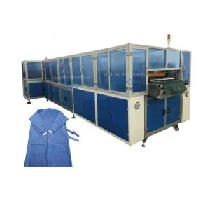 Automatic Disposable Non Woven Surgical Apron Protective Clothing Making Machine Manufactures
