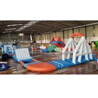 PVC King Inflatable Supply Floating Water Park With Inflatable Games Toys