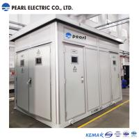 Pre Fabricated Power Distribution Transformer With The Capacity Of 2400 Kva Manufactures