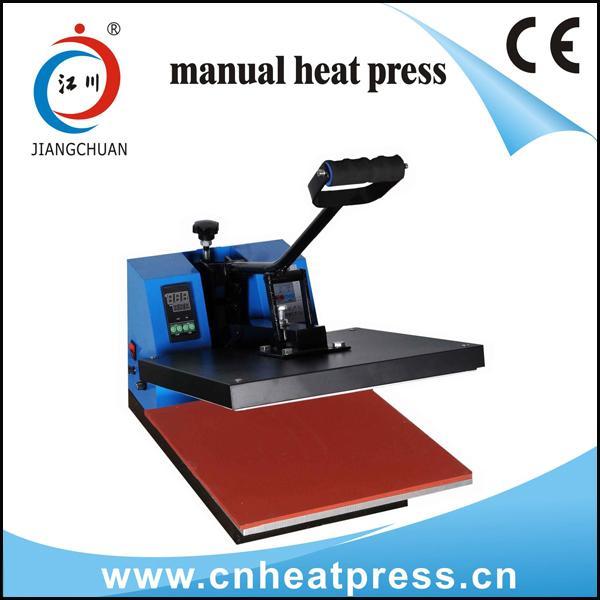 Quality Manual T-shirt heat press machine for sale