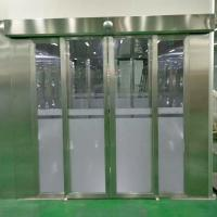 Clean Room Air Shower System With Auto Sliding Doors For People And Goods Manufactures