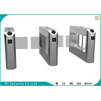 Bidirectional Swing Barrier Gate RFID Reader Turnstile Subway Gate Manufactures