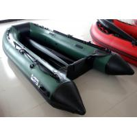 Durable Inflatable Fishing Sea Kayak 4 Persons Inflatable Boat Blue color 3.2m length Manufactures