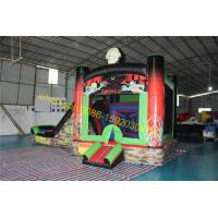 zombies bouncy castle slide house