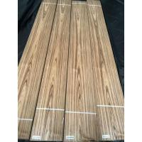 Quality Teak Veneer Crown Cut Burma Teak Natural Veneers Myanmar Teak Sliced Veneer for Interior Furniture Doors & Plywood for sale