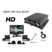 Hard Disk 720P  HD Mobile DVR  4CH With GPS WIFI 3G  For Realtime View