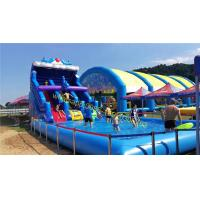 water slide with pool Manufactures