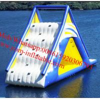 Quality big inflatable slides, cheap inflatable water slides for sale AquaGlide Water for sale
