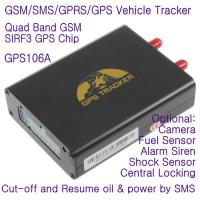 GPS106 Car Auto Taxi Truck Fleet GPS GSM Tracker W/ Photo Snapshot & Online GPRS Tracking Manufactures