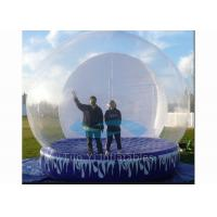 Attractive Giant Inflatable Dome Tent / Bubble Tent For Taking Photos Fire Proof Manufactures