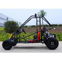 Four Stokes Motorized Kids Mini Go Kart Chain Drive , Single Cylinder Manufactures