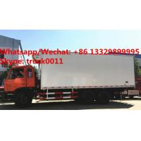 Quality durable best price dongfeng 6*4 LHD 210hp 15tons refrigerator truck for sale, Wholesale OEM customized cold room truck for sale