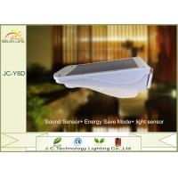 Sound Sensor Solar Motion Detector Lights / Floodlight With Monocrystalline Silicon Panel Manufactures