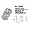 small door handle shower door knob shower door hardware WL-3006 Dia.30x25mm Manufactures