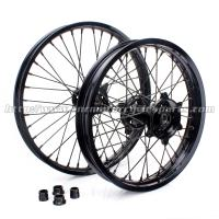 Custom 21 Inch Motorcycle Wheel Rims / Black Custom Motorbike Wheels Manufactures